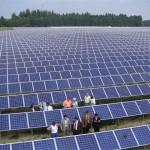 champ solaire photovoltaique